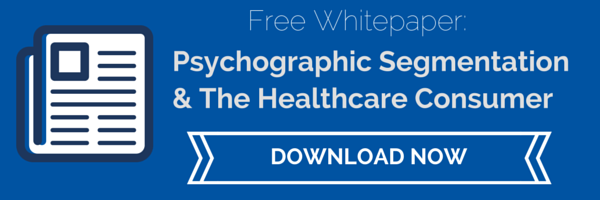 Psychographic Segmentation and the Healthcare Consumer